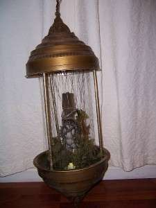 Vintage Grist Mill Water Wheel Oil Rain Motion Lamp