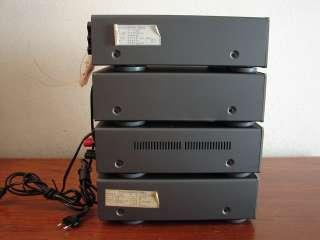 DENON UDRA F10 SHELF STEREO SYSTEM AMP CD CASSETTE 220V