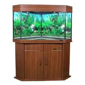 BRAND NEW Large 187 Litre (41 Gallon) Corner Aquarium Fish Tank With