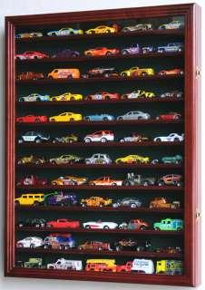 Hot Wheels Matchbox Car Display Case Cabinet Wall Rack