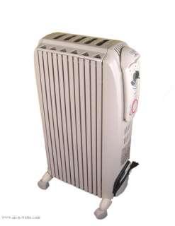 New DeLonghi TRD0715T 1500 W Watt Electric Radiator Space Heater