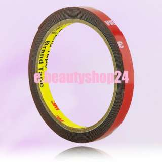 3M Auto Truck Car Acrylic Foam Double Sided Attachment Tape Adhesive