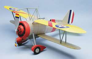 F9C 2 Sparrowhawk #319 Dumas Balsa Wood Model Airplane Kit