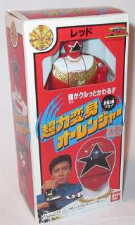 1995 Bandai Power Rangers Zeo Red Ranger Japanese Boxed