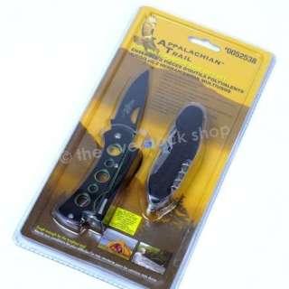 Appalachian Trail 2 PC Multi Purpose Tool Gift Set Knives
