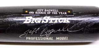 JEFF BAGWELL SIGNED RAWLINGS 1991 ROY BASEBALL BAT JSA