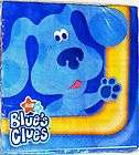 16) BLUES CLUES LARGE NAPKINS ~ HTF Birthday Party Supplies
