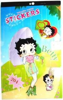 BETTY BOOP ~FUN STICKER BOOK With 204 STICKERS~