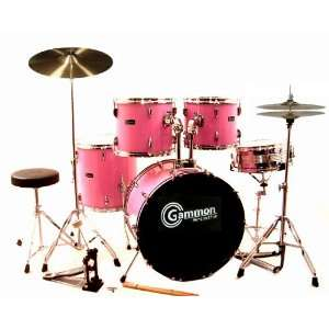 Pink Drum Set For Sale Complete Full Size Kit with Cymbals
