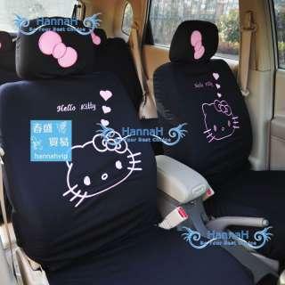 10pcs Sanrio Hello KItty CAR SEAT COVERS Universial High Quality FA139