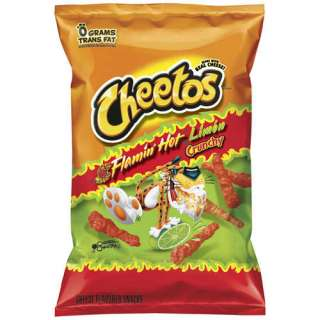 50 Flamin Hot Cheetos Crunchy Potato Chips With Real Cheese 1 Oz Bags