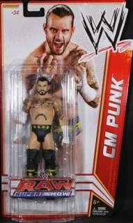 CM PUNK   WWE SERIES 18 MATTEL TOY WRESTLING ACTION FIGURE