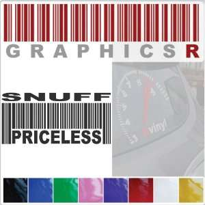 Barcode UPC Priceless Snuff Smokeless Tobacco Snus Dipping A799   Red