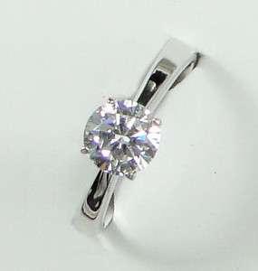 Plated 1.25ct Cubic Zirconia XMAS GIFT Diamond Cut Ring AR0463