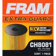 FRAM Extra Guard Oil Filter, CH8081 FRAM Extra Guard Oil Filter