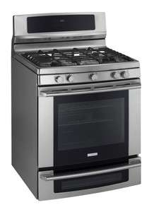 Stainless Steel Dual Fuel PROPANE Double Oven Range EW3LDF65GS