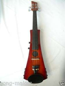 New Electric violin Powerful Sound High quality Solid wood #22