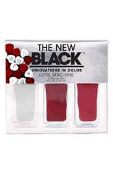 THE NEW BLACK I Want Candy   Love Machine Nail Polish 3 Piece Set $
