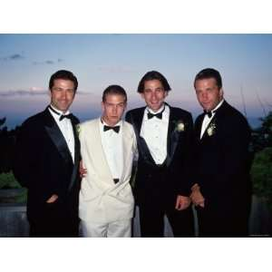 Brothers Alec, Stephen, William and Daniel Baldwin