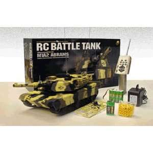 124 REMOTE CONTROL SCALE US M1A2 ABRAMS TANK Everything