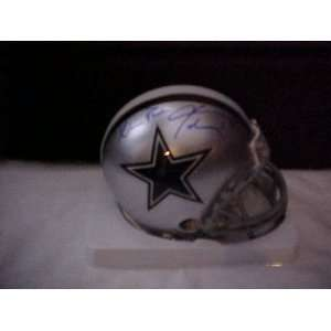 Michael Irvin Hand Signed Autographed Dallas Cowboys Riddell Football