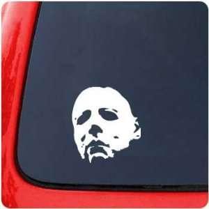 Michael Myers Full Mask Sticker Movie Halloween Horror
