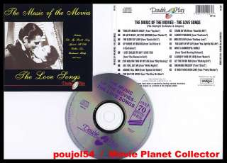 MUSIC OF THE MOVIES   LOVE SONGS (BOF/OST) Top Gun (CD)