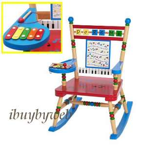 Levels Of Discovery Kids Musical Rocking Chair Rocker