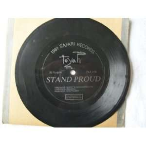 TOYAH Stand Proud 7 45 flexi disc Toyah Music