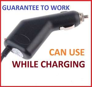 Auto Car Power Charger Cable GARMIN NUVI 310 250W 255W