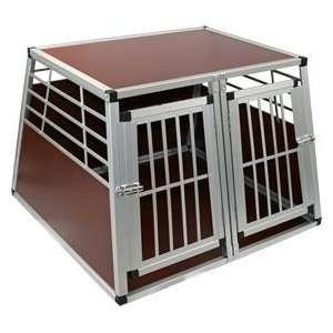 Double Door Pet Kennel Cage for Indoor & Travel Use Pet