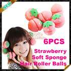 Sponge Hair Foam Bun Updo Styler Curlers Rollers New
