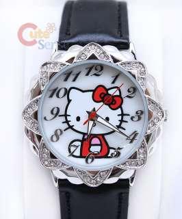 Sanrio Hello Kitty Wrist Watch w/Stone  Licensed USA