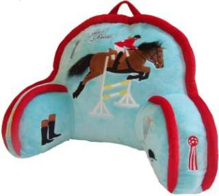 Kids Cowboy Horse Bean Bag Chairs Blue Child Boy New