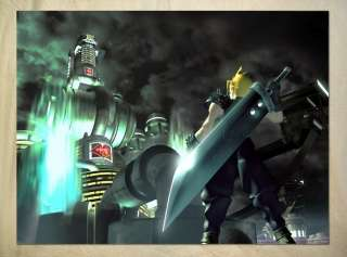 S763 Final Fantasy VII Cloud Strife Buster Sword POSTER