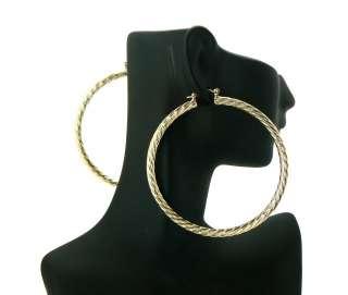 Basketball Wives POParazzi Hoop Earring Gold LXE16G 70mm