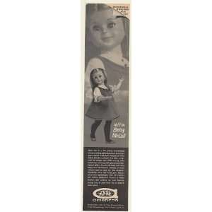 1961 Betsy McCall Doll American Doll & Toy Print Ad (53397