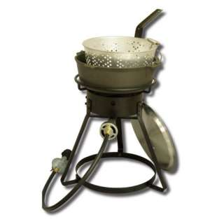 Together Outdoor Cooker with Cast Iron Pot Grills & Outdoor Cooking