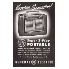 General Electric Super 3 Way Portable Radio General Electric Books