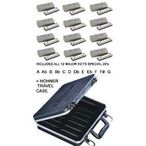 Hohner Special 20   Set of 12 Harmonicas Musical Instruments