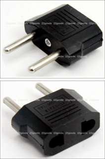 US/USA TO EUROPEAN EU TRAVEL PLUG ADAPTER Converter