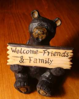 REVERSIBLE WELCOME SIGN Rustic Lodge Log Cabin Home Decor NEW