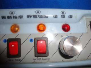 acupuncture machine, vibration massage, hot wave acupncture