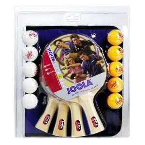 JOOLA Family Table Tennis Racket Set