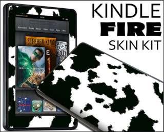 Kindle Fire Skin Vinyl Decal eBook Netbook Tablet #264 Cow