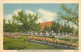 NJ LAKE HOPATCONG BERTRAND ISLAND PARK PAVILION T53731