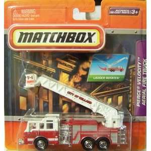 Matchbox Pierce Velocity Aerial Fire Truck Toys & Games