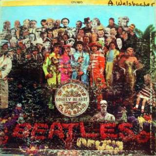 beatles sgt peppers lonely hearts club band label capitol records