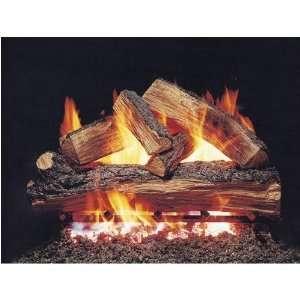 Peterson Gas Logs 24 Inch Split Oak Vented Propane Gas Log Set W/ G45