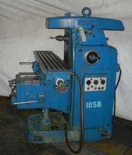 SUMMIT Plain Horizontal Milling Machine,